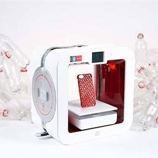 Ekocycle Cube 3D Yazıcı Pet Şişeleri Dönüştürecek