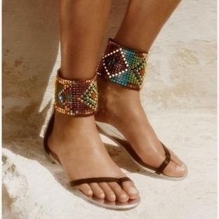 En moda sandalet modelleri 2014