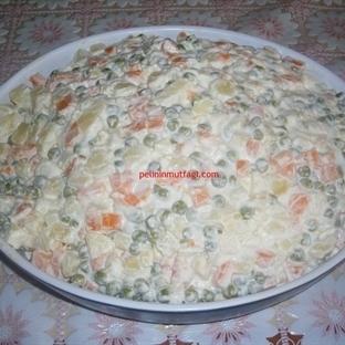 Ev Yapımı Rus Salatası Tarifi