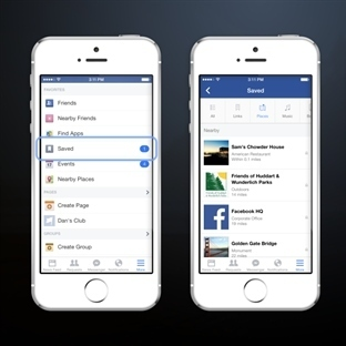 Facebook Kaydet Butonu