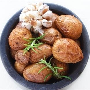 Fırında Bebek Patates