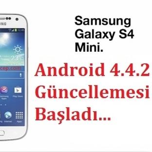 Galaxy S4 Mini Android 4.4.2 Güncellemesi Başladı