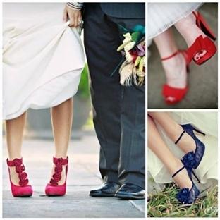 Gelin Ayakkabılarında Yeni Trend: Renkli Pabuçlar