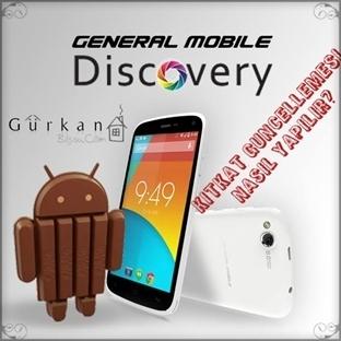 General Mobile Discovery Kitkat Güncellemesi Nasıl