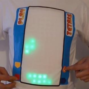 Giyilebilir Tetris