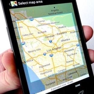 Google Haritayı Çevrimdışı Kullanın