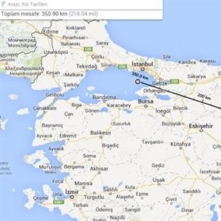 Google Maps Harita Güncellemesiyle Mesafeleri Ölçe