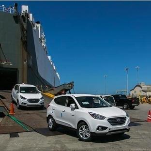 Hidrojenli Hyundai Tucson Fuel Cell