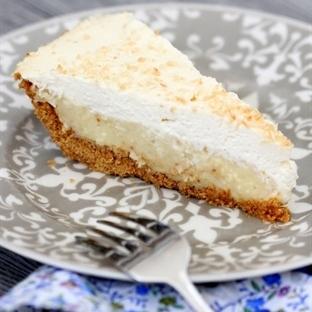 Hindistan Cevizli Kremali Pay - Coconut Cream Pie