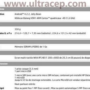 HP  Slate 8+'da HiSilicon İşlemci Kullanacak