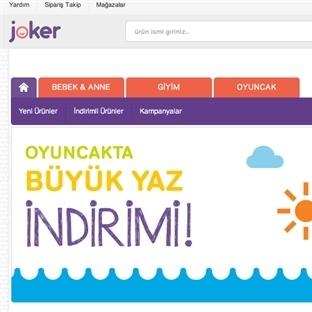 Joker'den Online Alışveriş