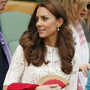 Kate Middleton:  Zimmermann Roamer Elbise