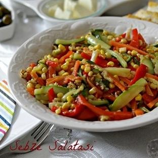 Kibrit Çöpü Salatası