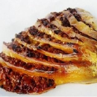 Kıyma Dilimli Patlıcan