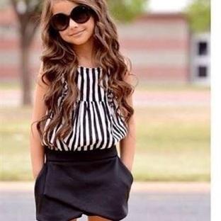 Kız Çocuk Yazlık Kıyafet Modelleri