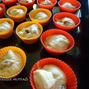 Kuru Kayısılı Havuçlu Muffin
