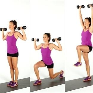 Kusursuz Bir Vücut İçin 6 Etkili Egzersiz