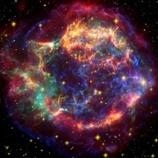 Laboratuvarda Bir Süpernova Patlaması Oluşturdular