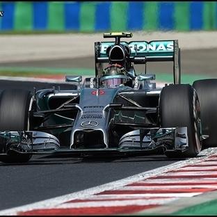 Macaristan'da Pole Nico Rosberg'in !!