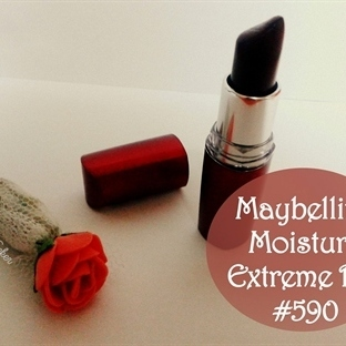 Maybelline Moisture Extreme Ruj #590