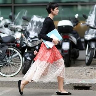 Milan Moda Haftası'nda Bayanların Sokak Stilleri