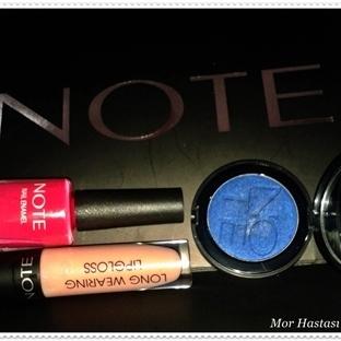 Note Cosmeticsle Gözler Senin Üzerinde