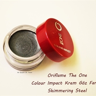 Oriflame The ONE Colour Impact Krem Göz Farı Shimm