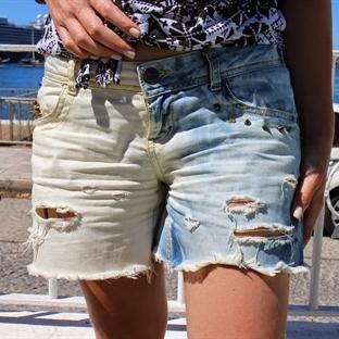 Pantolondan Şort Yapımı