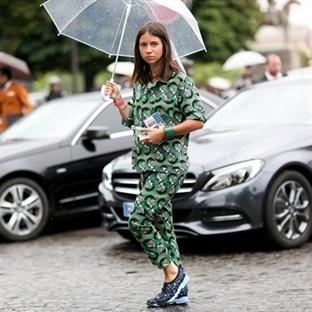 Paris Moda Haftası'nda Bayanların Sokak Stilleri