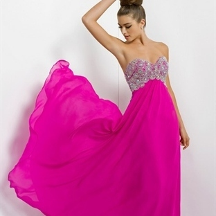 Pembe Yazlık Elbise Modelleri