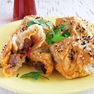 Pratik Patlıcanlı Milföy Börek