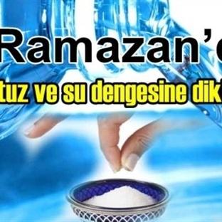 Ramazanda Su Ve Tuz Dengesini Sağlamak