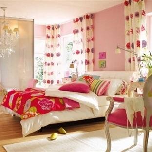 Renkli Yatak Odası Modelleri