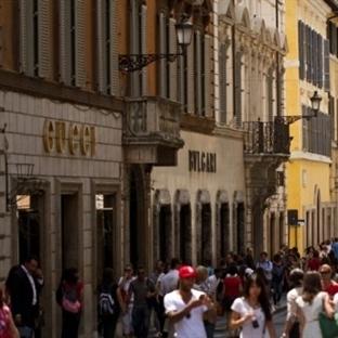 Roma'da Alışveriş