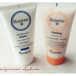 Rosense Peeling ve Rosense Nemlendirici Maske