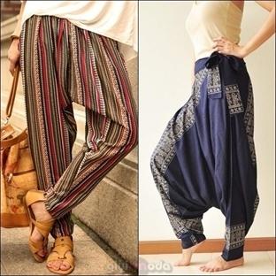 Şalvar Pantolonlar Nasıl Giyilir?