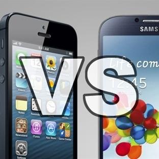 Samsung ve ıPhone Artık Kabak Tadı