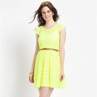 Sarı Yazlık Abiye Elbise Modelleri