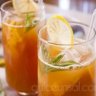 Şeftalili Buzlu Çay