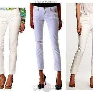 Sigaret Pantolonlar Yani Skinny Pantolonlar