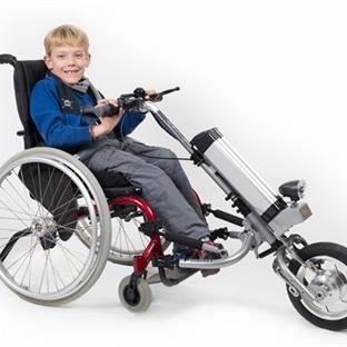 Tekerlekli Sandalye Elektrikli Motora Dönüşüyor