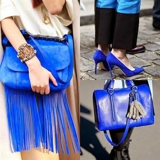 Trend: Mavi Renkli Aksesuarlar