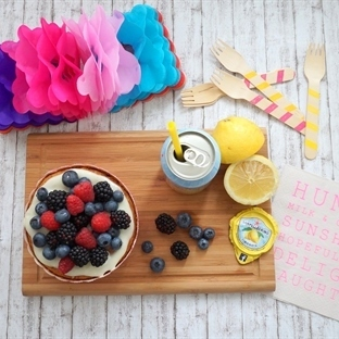 Vegan Berry Lemonade Cake