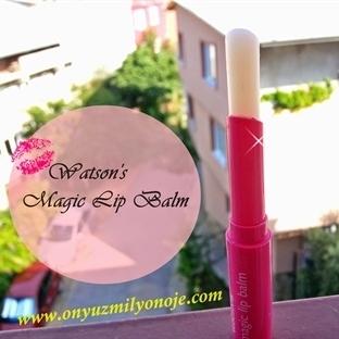 Watson's Renk Değiştiren Ruj; Magic Lip Balm