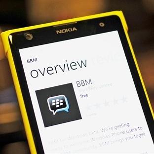 windows phone için BBM Beta Artık  indirilebilir