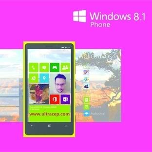 WP 8.1 Güncellemesi Lumia Cihazlar İçin Hazır