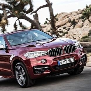 Yenilenen 2015 BMW X6 Tanıtıldı.
