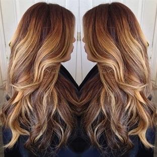2015 Yılı Trendlerinden Doğal Kahverengi Saç Renkl