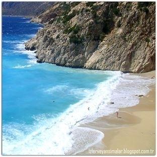 Akdeniz'in turkuaz renkli eşsiz plajı: Kaputaş