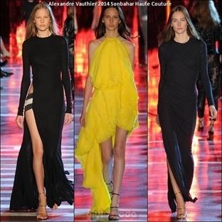Alexandre Vauthier Haute Couture 2014 Sonbahar